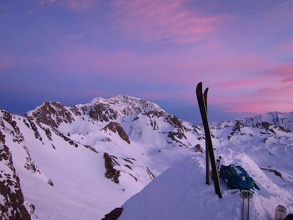 tramonto freeride tignes