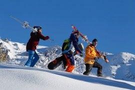 Sci e snowboard freeride UCPA
