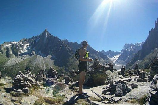 Trail Running Argentiere