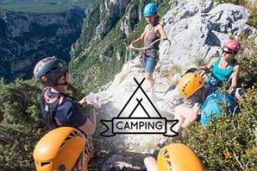 Camping & Climbing in Verdon