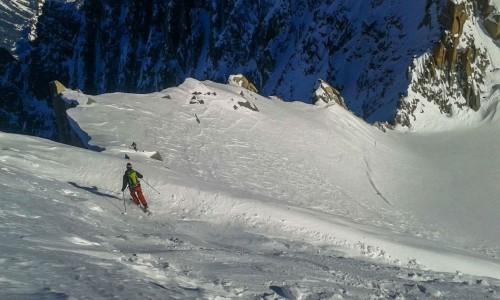 fine del fuoripista posettes a Chamonix