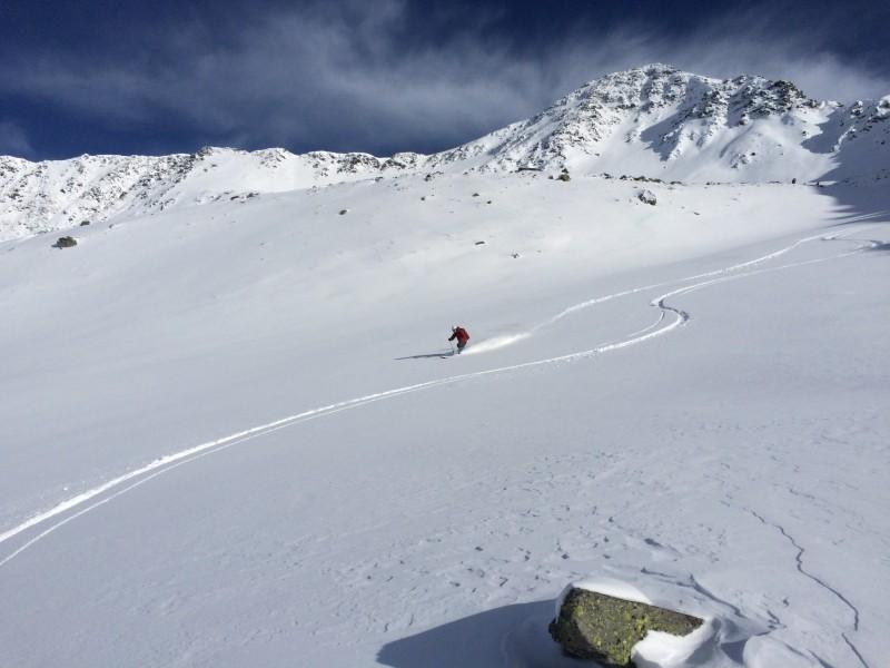 fuoripista Capo del Balme a Chamonix