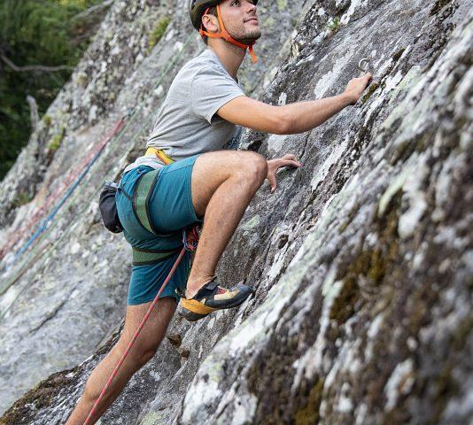 Arrampicata vie Lunghe Chamonix